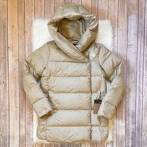 The North Face Women's Bagley Down Coat In Hawthorne Khaki